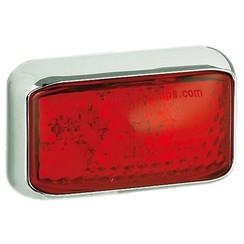 LED marker light red | 12-24v | 40cm. cable