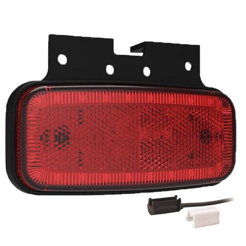 LED markeerlicht rood    12-24v    1,5mm² connector