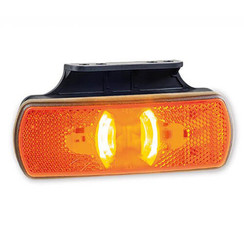LED side markers with flashing function | 12-36V | 50cm. cable