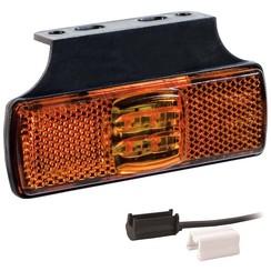 LED Umrissleuchten Bernstein | 12-24V | 1,5mm² Stecker