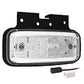 Fristom LED markeerlicht wit | 12-24v |  1,5mm² connector