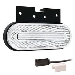 LED marker light white | 12-24v | 1,5mm² connector