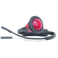 LED Umrissleuchten rot | 12-24V | 2 Steckerstift des