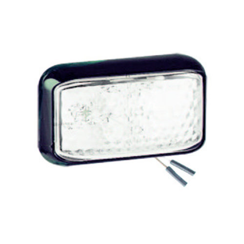 LED markeerlicht wit | 12-24v |  2-PIN connector