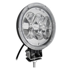 LED spotlight with 5400 Lumen Daytime 7inch 12 - 24v ECE R112 ECE R7