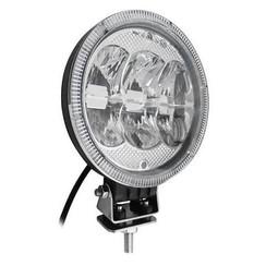 LED verstraler 5400 Lumen met dagrijverlichting 7inch  12 - 24v ECE-R112 ECE-R7