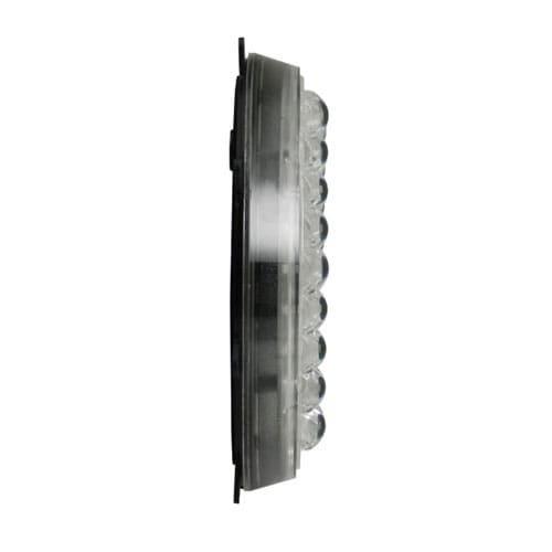 200mm Slave wit flasher slim-line met oren