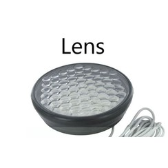 Replaceable lens serving 20L8 flasher