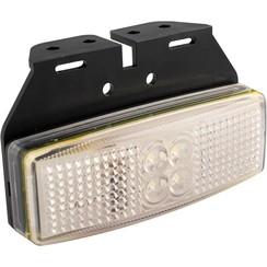 LED marker light white | 12-24v | 20cm. cable