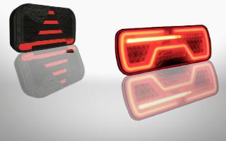Neon rear lights