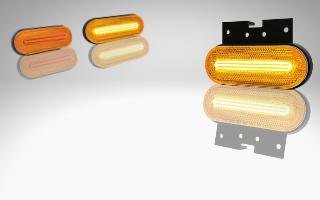 Seitenmarkierungsleuchten mit Blinklicht