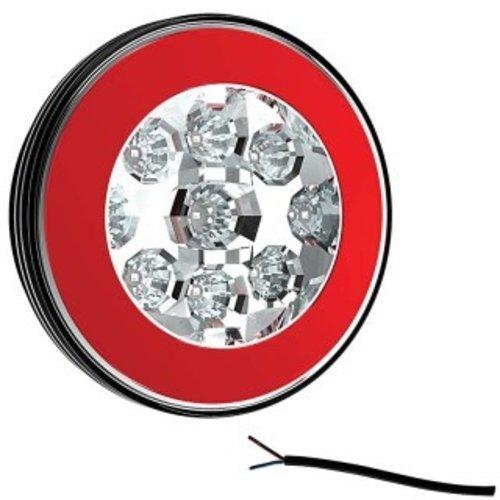 LED achteruitrijlicht met achterlicht    12-36v   100cm. kabel