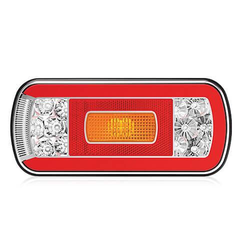 LED achterlicht zonder kentekenverlichting    12-36v   5 pins