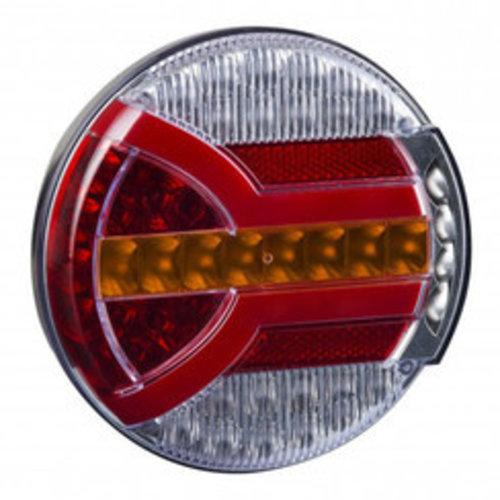 TRALERT® LED achterlicht met dynamisch knipperlicht  | 12-24v | 150cm. kabel