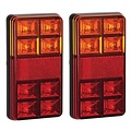 LED Autolamps  Rem/achterlicht/richtingaanw/reflector| 12v | twin pack