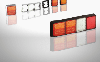 100-serie configurabel achterlicht