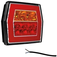 LED compact achterlicht zonder kentekenlicht  | 12-36v | 100cm. kabel
