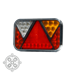 Right | LED rear light to rear light and license plate light 12V 5PIN