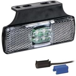 LED marker light white | 12-24v | 0,75mm² connector