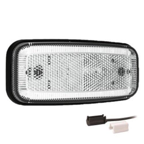 Fristom LED markeerverlichting wit  | 12-24v |  1,5mm² connector