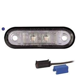 LED decoratielicht |  blauw  | 12-24v |  0,75mm² connector