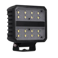 LED arbeitsscheinwerfer | 8267 Lumen | 80 Watt | IP69K | Errichtet Deutsch-Stecker