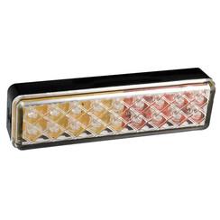 LED achterlicht slimline  | 12-24v | 0,18m. kabel