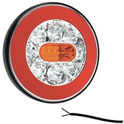 LED-Rücklicht ohne Kennzeichenbeleuchtung | 12-36V | 100cm. Kabel