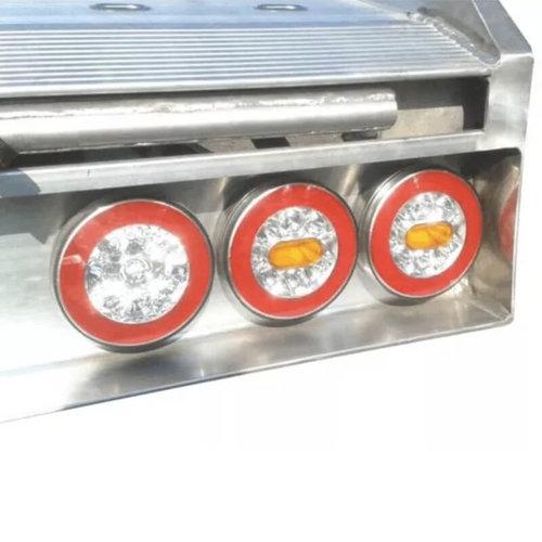 LED achterlicht Y-homologatie zonder kentekenverlichting  | 12-36v | 100cm. kabel