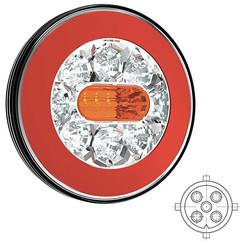 LED rear light without license plate light | 12-36V | 5 pins