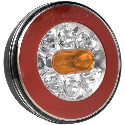 LED achterlicht zonder kentekenlicht  | 12-36v | 5 pins