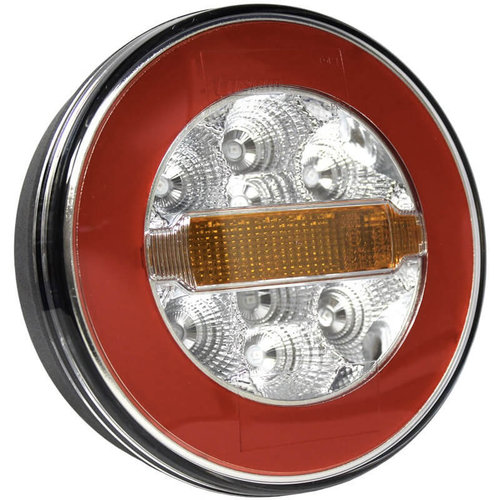 LED achterlicht zonder kentekenlicht    12-36v   5 pins