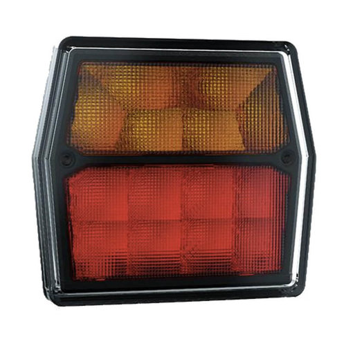 Compact LED rear light 12V 100cm. cable excl. license plate light