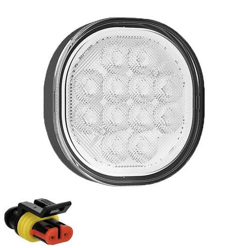 Fristom LED Achteruitrijlicht    12-24v   50cm. kabel+superseal vlakke montage