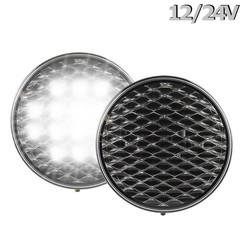 LED Reverse Light | 12-24v | 30cm clear lens. cable