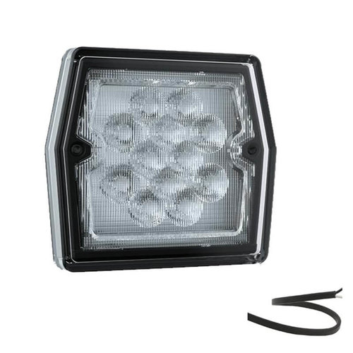 LED Compact achteruitrijlicht  12v 100cm. kabel