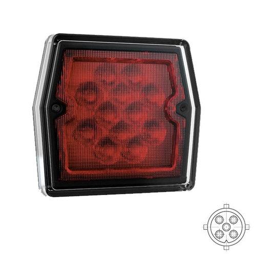 LED Compact mistlicht   12v   5 PIN's bajonet