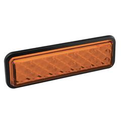 LED knipperlicht slimline inbouw  | 12-24v | 0,18m. kabel