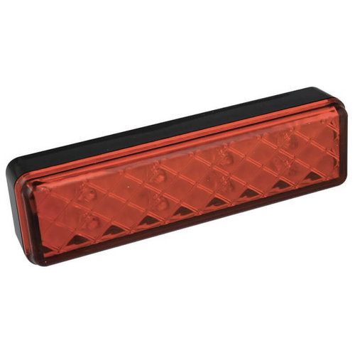 LED 3de remlicht slimline  | 12-24v | 0,18m. kabel