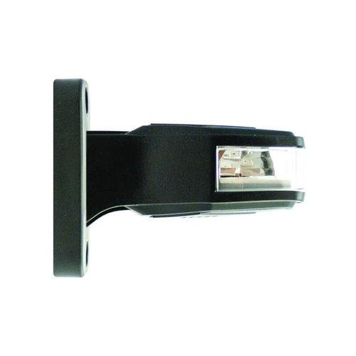 Links | LED breedtelamp   | 12-24v | 30cm. kabel (Rood/wit/amber)