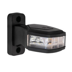 Rechts | LED Begrenzungsleuchten | 12-24V | 30cm. Kabel (rot / weiß / gelb)