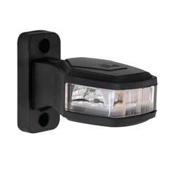 Rechts | LED breedtelamp   | 12-24v | 30cm. kabel (Rood/wit/amber)