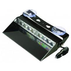 LED Dashboard Flitser 8 LED's Amber | 10-30v |