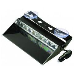 LED Dashboard Flash 8 LEDs Blue   10-30V  