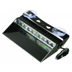 LED Dashboard Flitser 8 LED's Blauw | 10-30v |