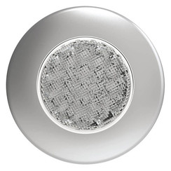 LED Innenraumleuchte Silber | 12-24V | Warmweiẞ