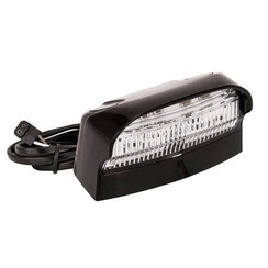 LED license plate light | 12-24v | 100cm. Cable & Connector 1P
