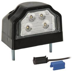 LED-Kennzeichenleuchte | 12-36V | inkl. Stecker 0.75mm2