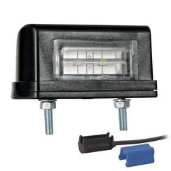 LED license plate light | 12-36V | incl. connector 0.75mm2