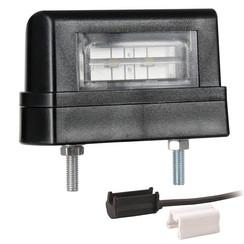 LED-Kennzeichenleuchte | 12-36V | inkl. Stecker 1.5mm2